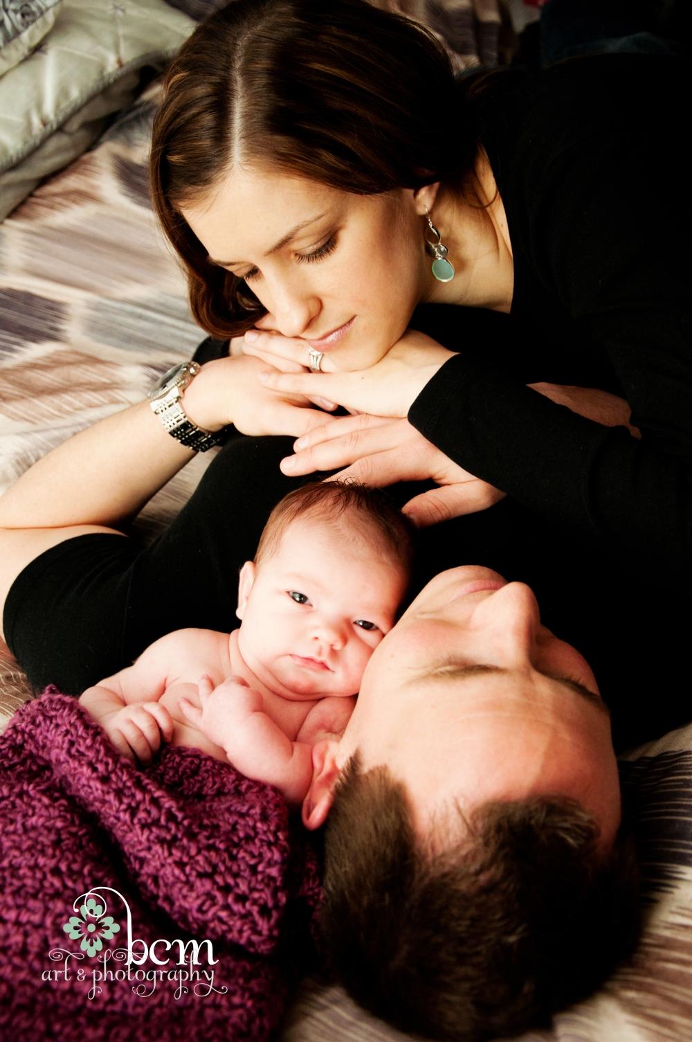 Newborn Portraits ~ bcm art & photography