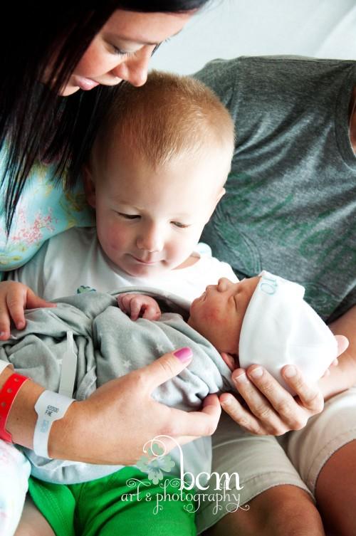 Newborn Portraits, Hospital Experience ~ bcm art & photography 2014