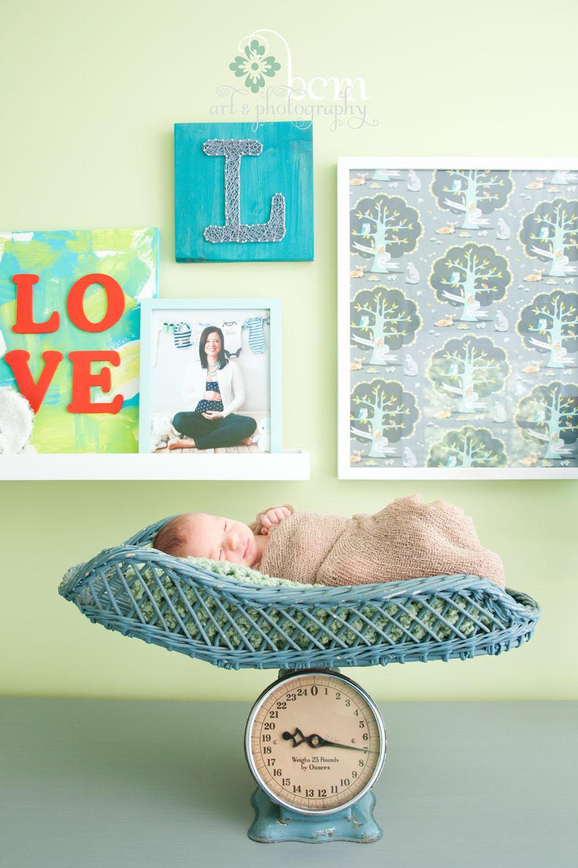 Newborn Portraits, bcm art & photography 2014