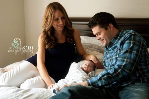 Newborn Portraits ~ bcm art & photography 2014