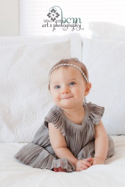 Little Miss Fancy ~ 6-Month Portraits