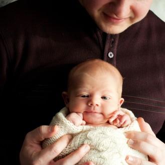 Newborn Portraits ~ Baby Everett & Family